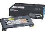 Lexmark C500H2YG Genuine Yellow Toner Cartridge