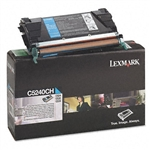 Lexmark C5240CH Genuine Cyan Toner Cartridge
