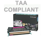 Lexmark C734A4MG Magenta Toner Cartridge