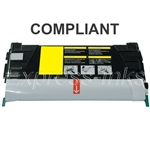 Lexmark C748H1YG Yellow Compatible Toner Cartridge