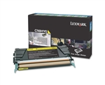 Lexmark C748H1YG Genuine Yellow Toner Cartridge