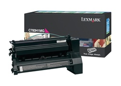 Lexmark C780H1MG Genuine Magenta Toner Cartridge