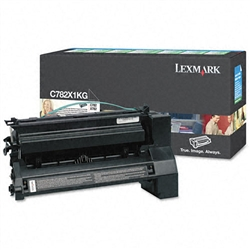 Lexmark C782X1KG Genuine Black Toner Cartridge