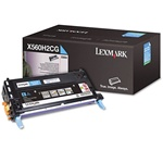 Lexmark X560 Genuine Cyan Toner Cartridge X560H2CG