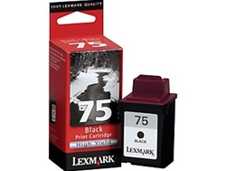 Lexmark 75 Black Inkjet Cartridge 12A1975