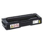 Ricoh 406478 OEM Genuine Yellow Toner Cartridge
