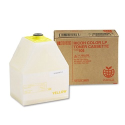 Ricoh 885373 Genuine Yellow Toner Cartridge Type-105