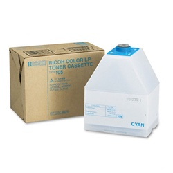 Ricoh 885375 Genuine Cyan Toner Cartridge Type-105