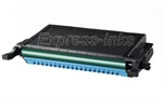 Samsung CLP-C660B Compatible Cyan Toner Cartridge