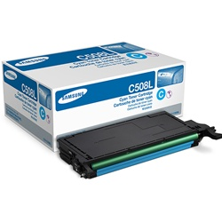 Samsung CLT-C508L Genuine Cyan Toner Cartridge