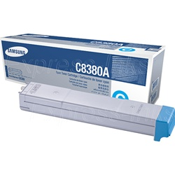 Samsung CLX-C8380A Genuine Cyan Toner Cartridge