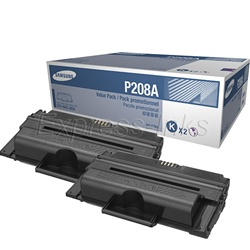 Samsung MLT-P208A Genuine Toner Cartridge Value Combo
