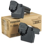 Toshiba T1600 Genuine Black Toner Cartridge
