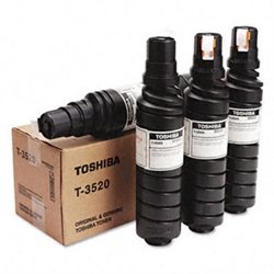 Toshiba T3520 4-Pack Copier Black Toner Bottles