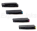 Xerox Phaser 6100 4-Pack Toner Cartridge Combo