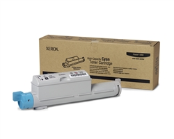 Xerox Phaser 6360 Genuine Cyan Toner Cartridge 106R01218