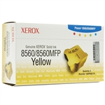 Xerox Phaser 8560 (3-Sticks) Genuine Yellow Solid Ink 108R00725