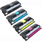 Xerox Phaser 6115 4-Pack Compatible Toner Combo