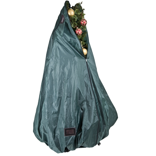 Christmas Tree Bags.Treekeeper Decorated With Rolling Stand For Artificial Trees 6 9 Tall