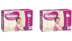 Huggies Toddler Girl Nappies (10-15 kg) Bulk MULTIBUY - 108x2 nappies