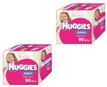 Huggies Junior Girl Nappies (16 kg & over) Bulk MULTIBUY - 90x2nappies