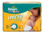 Pampers nappies micro