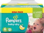Pampers Nappies Baby Dry 15+kg 92