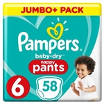 Pampers Baby Dry Pull Ups 6