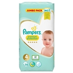 Premium Protection Jumbo Pack 9-14kg (54 Nappies)
