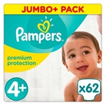 Pampers Premium Protection 9-18kg 62