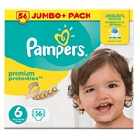 Pampers Premium Protection 15+kg 56