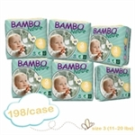 Bambo Nature Nappies Midi 5-9kg 198