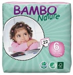 Bambo Nature Nappies XL 16-30kg  22