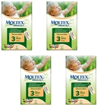 Moltex Nature n.1 eco nappies 3 Midi 4-9kg 40x4