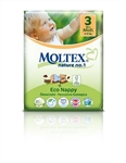 Moltex Nature n.1 eco nappies 3 Midi 4-9kg 34