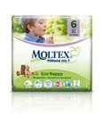 Moltex Nature n.1 eco nappies 6 XL 16-30kg 22 nappies