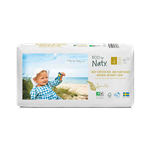 Naty Eco Baby Nappies Size 4 Double Pack 44pcs