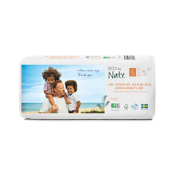 Naty Eco Baby Nappies Size 5  Double Pack 40pcs