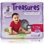 Treasures Nappies Crawler Unisex 24 nappies
