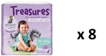 Bulk Treasures Nappies Toddler Unisex 160 nappies