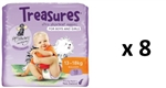 Bulk Treasures Nappies Walker Unisex 144 nappies