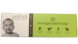 wotnot biodegradable nappy bags - Pkt 50