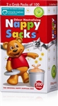 Nappy Sacks Gel Pack  200pk