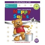 Nappy Sacks Gel Pack  400pk