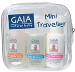 Gaia Natural Baby Traveller Kit 3 X 50ml