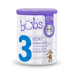 Bubs Goat Milk Toddler Baby Formula Step 3 from birth 800g