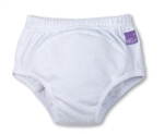 Bambino Mio Reusable Training Pants - White 3+ Yrs