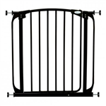 Dreambaby safety gate Chelsea Swing Closed Doorway Black F160B