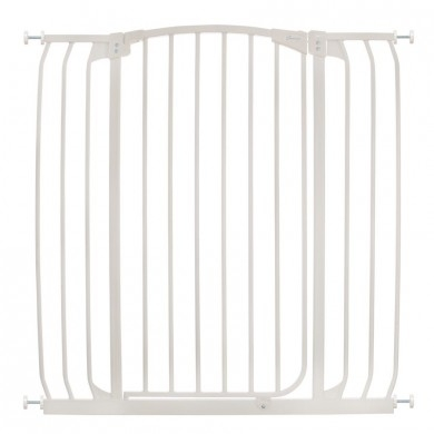 Dreambaby Safety Gate Swing Closed Hallway F191w Chelsea Tall Xtra
