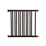 Dreambaby safety gate - Nelson Dark Wood Espresso Gro- Gate F829